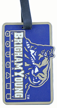 Brigham Young Cougars Bag / Luggage Tag