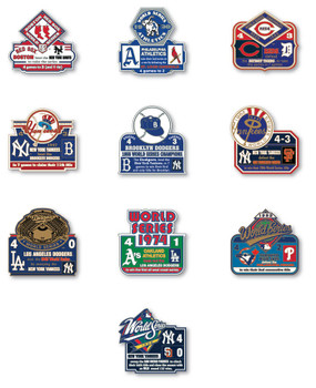 World Series History Commemorative Pin Collection - Release #6