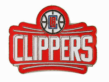 Los Angeles Clippers Logo Pin - Red