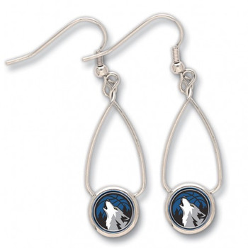Minnesota Timberwolves French Loop Earrings