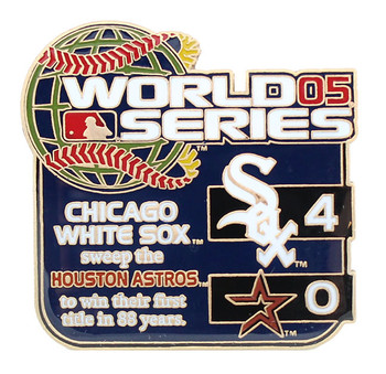 2005 World Series Commemorative Pin - White Sox vs. Astros