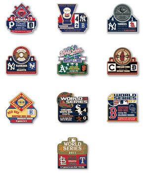 World Series History Commemorative Pin Collection - Release #7