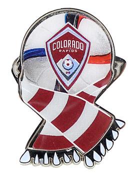Colorado Rapids MLS Scarf Pin
