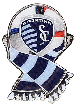 Kansas City Sporting MLS Scarf Pin