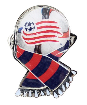 New England Revolution MLS Scarf Pin