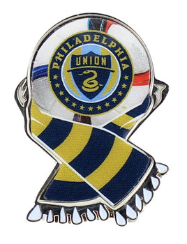 Philadelphia Union MLS Scarf Pin