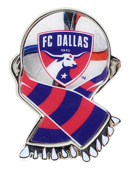 FC Dallas MLS Scarf Pin