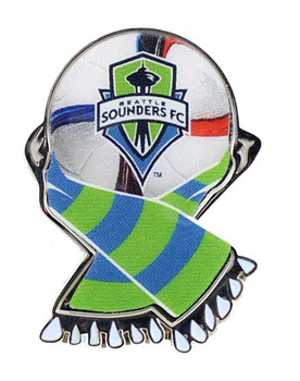 Seattle Founders MLS Scarf Pin