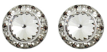 Dancer Earrings / Dance Competition Stud Earrings - 15mm Swarovski Crystal