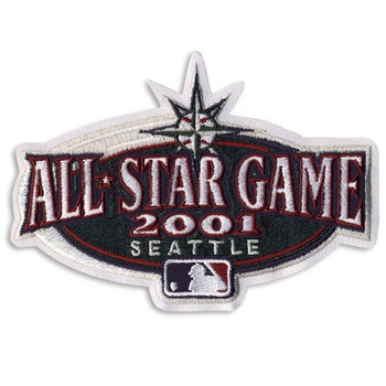 """Seattle Mariners 2001 All-Star Game Patch -– 4"""""""""""