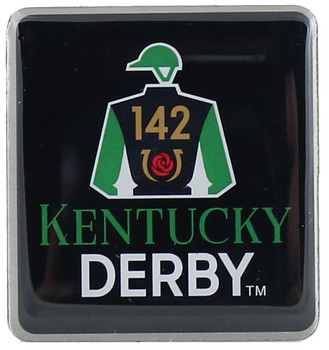 2016 Kentucky Derby 142 Logo Pin