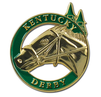 Kentucky Derby Lapel Pin - Green