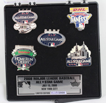 2008 MLB All-Star Game Pin Set - Limited 2,008