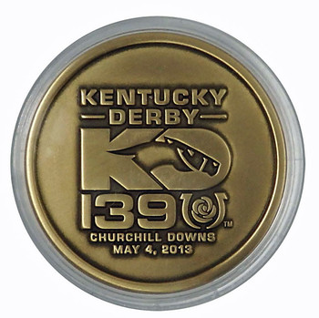 2013 Kentucky Derby 139 Bronze Coin