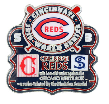 1919 World Series Commemorative Pin - Reds vs. White Sox