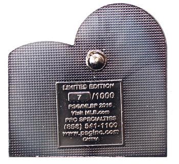 1973 World Series Commemorative Pin - A's vs. Mets