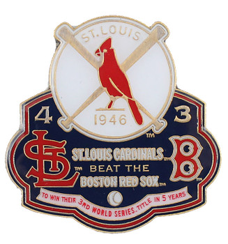 1946 World Series Commemorative Pin - Cardinals vs. Red Sox