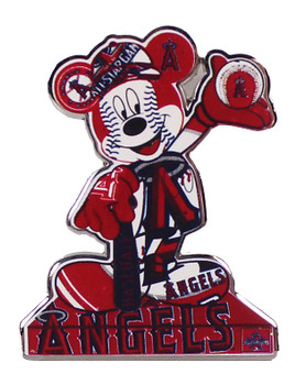 Los Angeles Angels / Disney's Mickey Mouse Statue Pin - Oversized