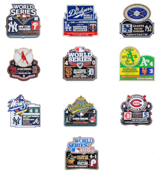 World Series History Commemorative Pin Collection - Release #9