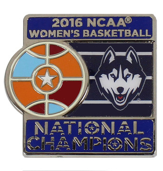 Connecticut Huskies 2016 Women's Final Four Champions Pin
