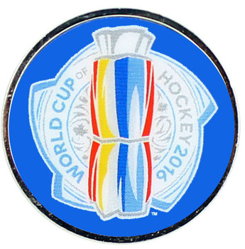 2016 World Cup of Hockey Logo Pin
