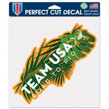 "Rio de Janeiro 2016 Olympics Perfect Die Cut Adhesive Decal - 8"""