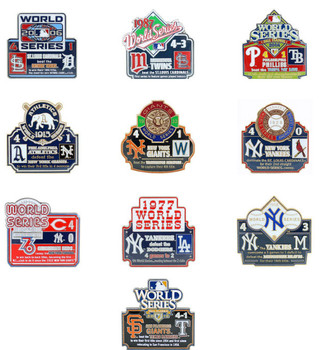 World Series History Commemorative Pin Collection - Release #10