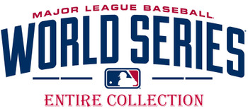 Entire World Series History Commemorative Pin Collection - 116 Pins