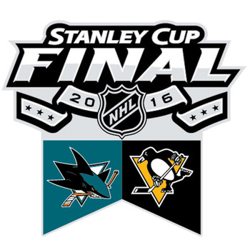 2016 NHL Stanley Cup Match Up Pin - Sharks vs. Penguins