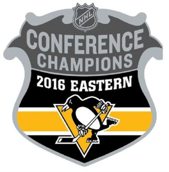 Pittsburgh Penguins 2016 NHL Eastern Conference Champs Pin