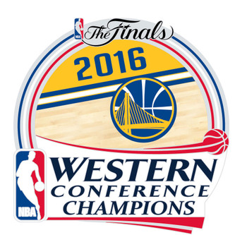 Golden State Warriors 2016 Western Conference Champions Pin