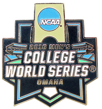 2016 NCAA College World Series Logo Pin
