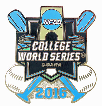 2016 NCAA College World Series Cross Bats Pin