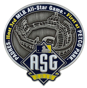 2016 MLB All-Star Game Petco Park Commemorative Pin - Limited 2,016