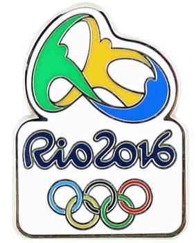Rio de Janeiro 2016 Olympics Logo Pin