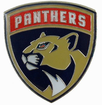 Florida Panthers Logo Pin.