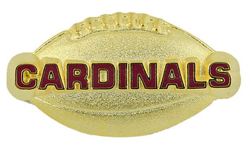 Arizona Cardinals Football Pin
