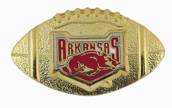 Arkansas Razorbacks Football Pin