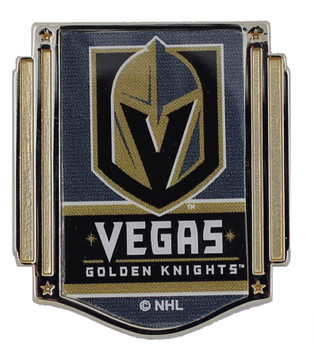 Vegas Golden Knights Banner Pin