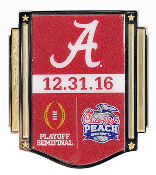 Alabama Crimson Tide 2016 Peach Bowl Pin