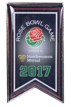 2017 Rose Bowl Pin Banner Pin