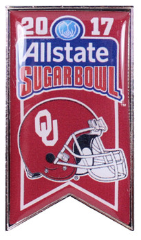 Oklahoma 2017 Sugar Bowl Pin