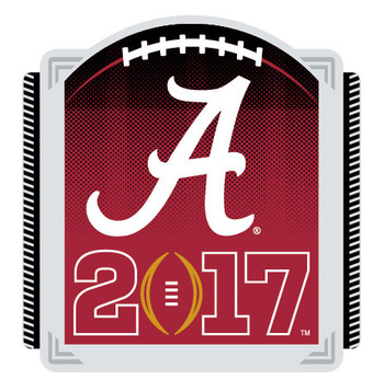 Alabama Crimson Tide 2017 National Championship Pin