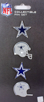 Dallas Cowboys Evolution Pin Set