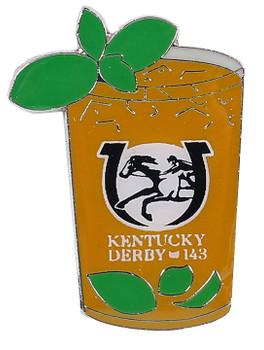 2017 Kentucky Derby (143rd) Mint Julep Pin