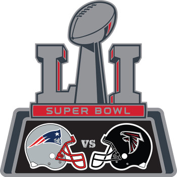 Super Bowl LI (51) Patriots vs. Falcons Head To Head Pin