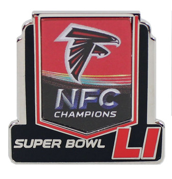 Atlanta Falcons 2016 NFC Champions Super Bowl 51 Pin