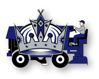 Los Angeles Kings Zamboni Pin