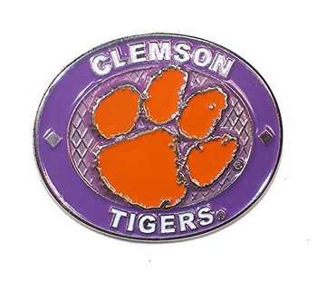 Clemson Tigers Oval Pin