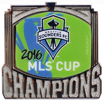 Seattle Sounders FC 2016 MLS Champions Pin